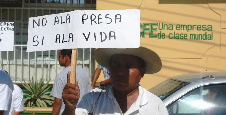 Celebran en la Costa el Día Internacional contra las Presas (Oaxaca)
