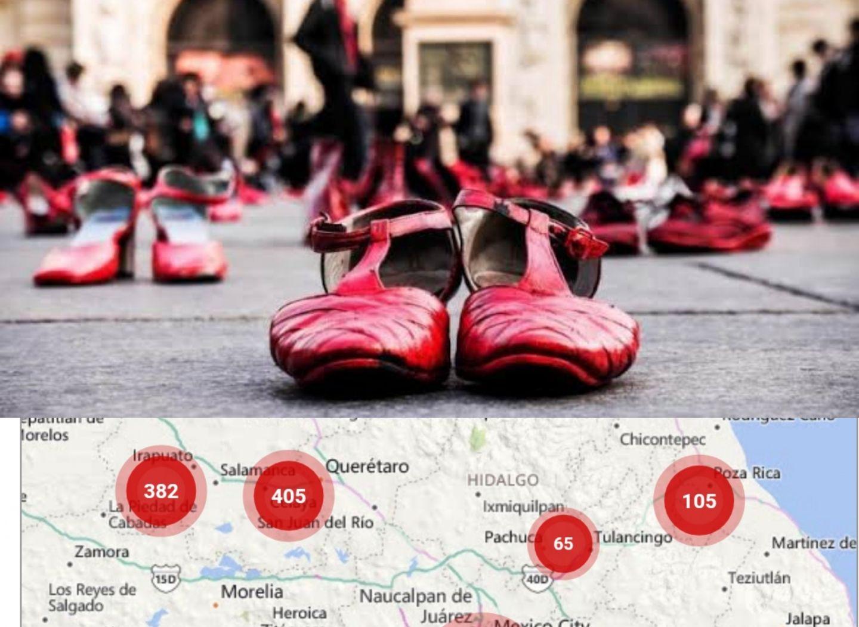 Triángulo Pachuca-Tulancingo-Apan entre los de mayores feminicidios (Hidalgo)