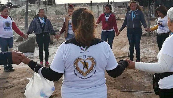 Siguen 'Guerreras' con la incansable búsqueda de sus 'tesoros', ahora fue en Playa Bruja (Sonora)