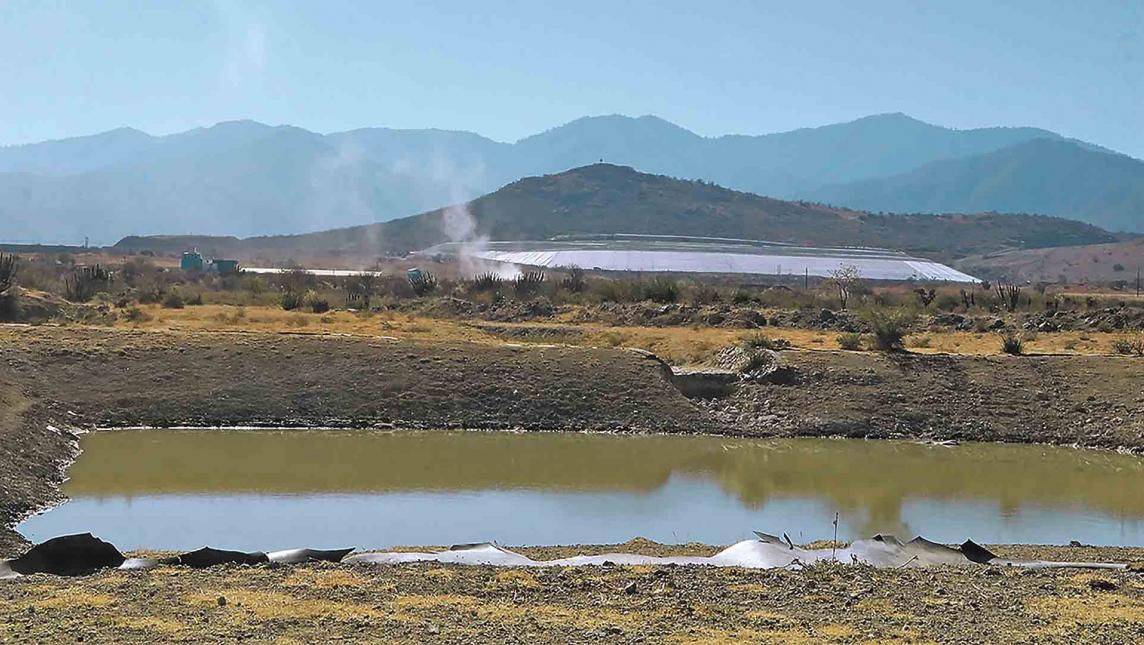 Contaminó mina La Trinidad mantos acuíferos de Magdalena, Ocotlán (Oaxaca)
