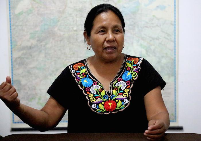No esperamos nada de AMLO, sus proyectos son continuación del despojo a indígenas: Marichuy