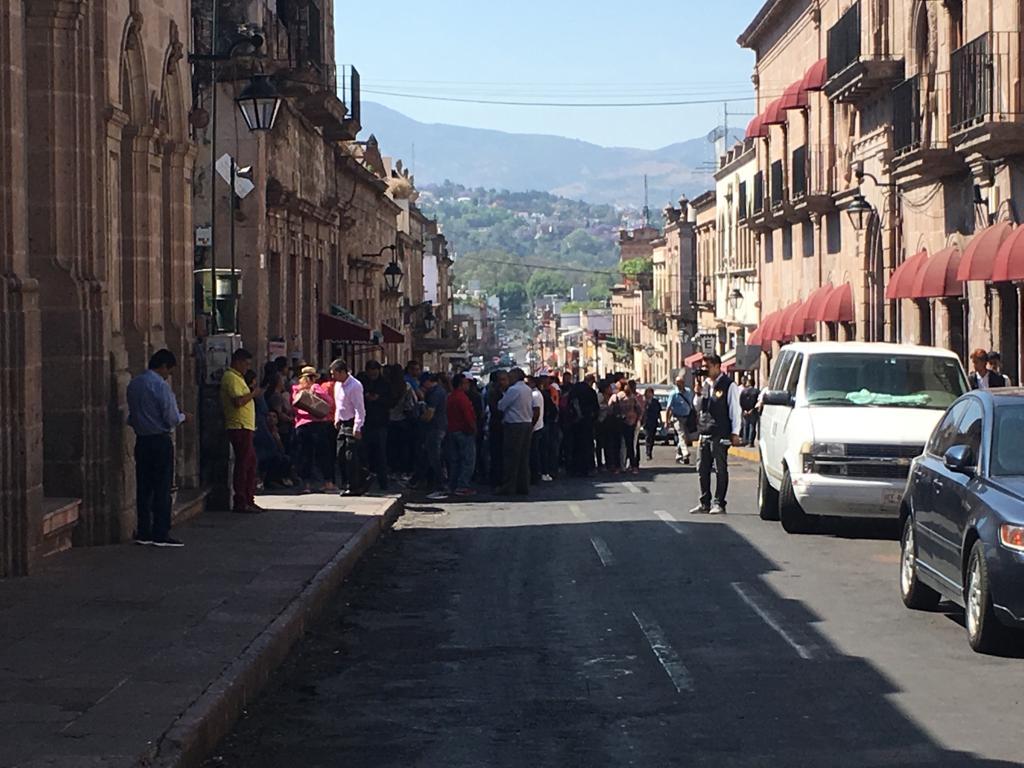 Extiende Suttebam cierre de calles en Centro de Morelia
