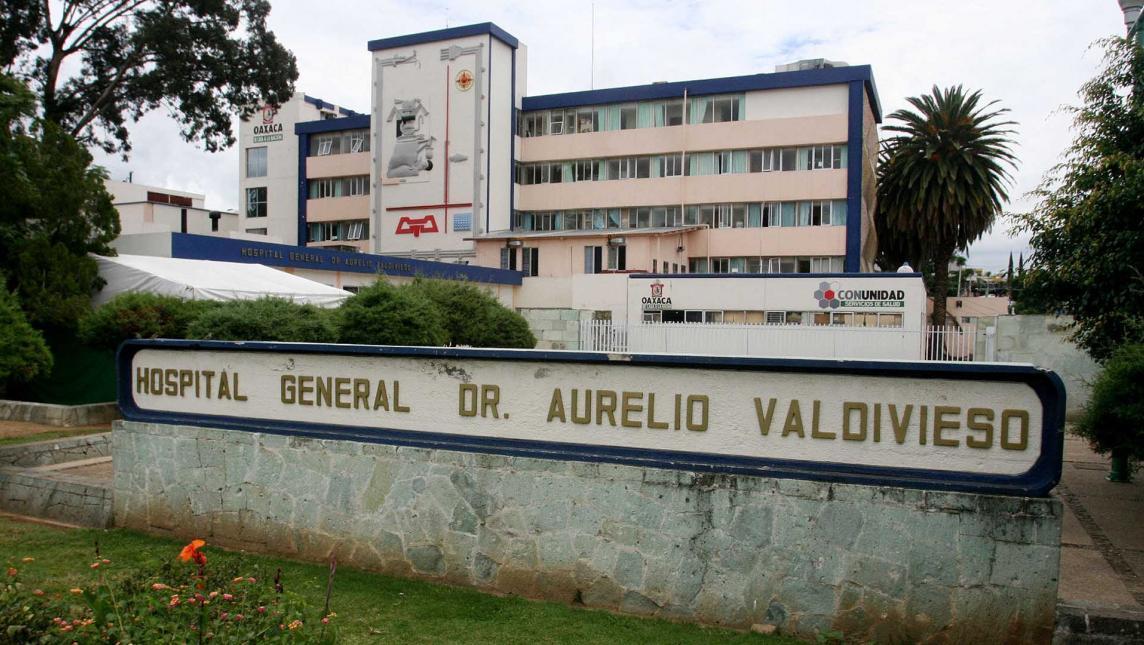 Niña da a luz en Hospital Civil (Oaxaca)