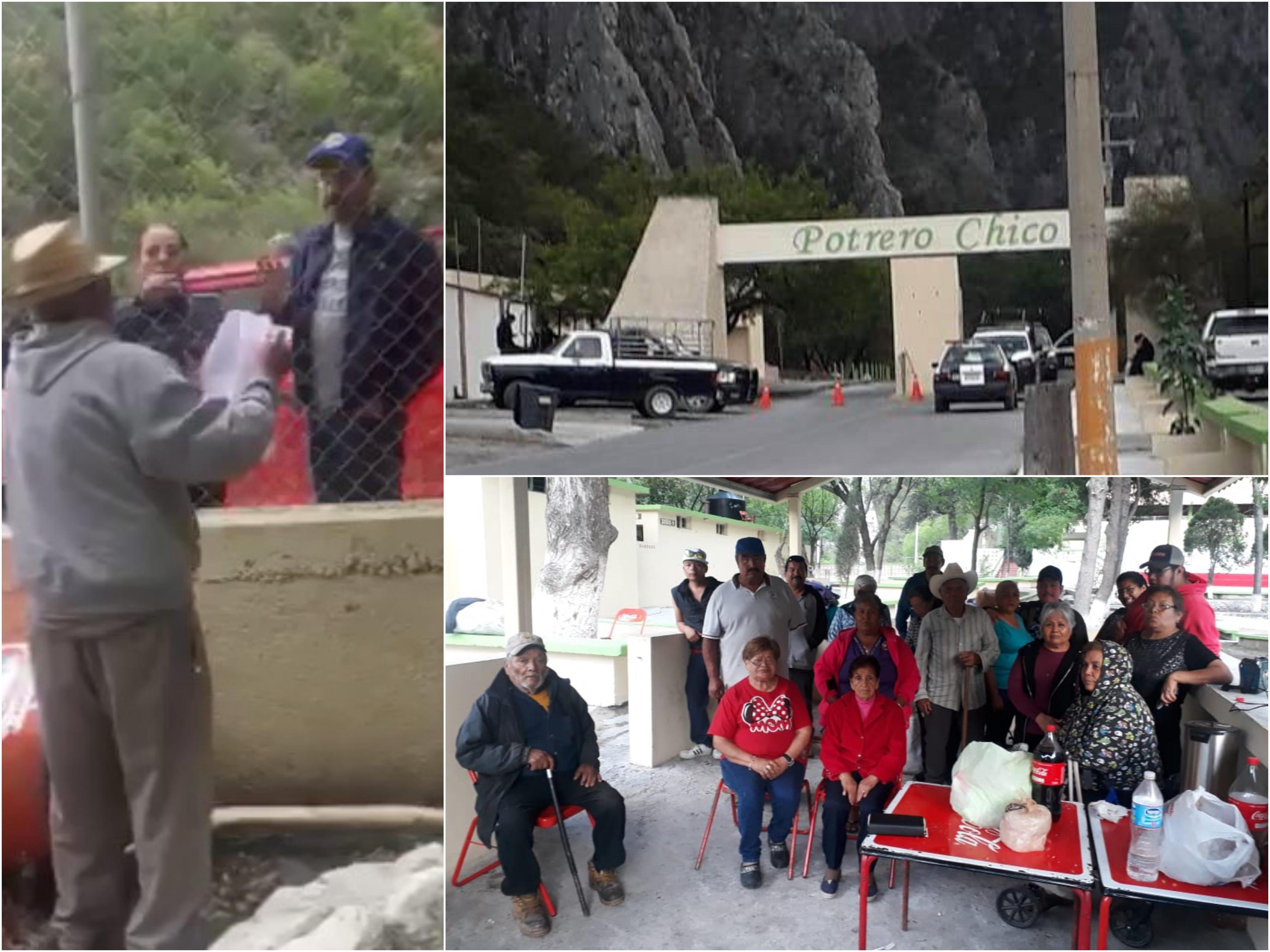 Desalojan a ejidatarios de Potrero Chico (Nuevo León)