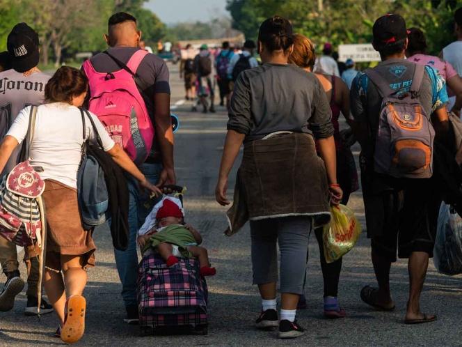 Han interceptado a 779 migrantes en Tamaulipas