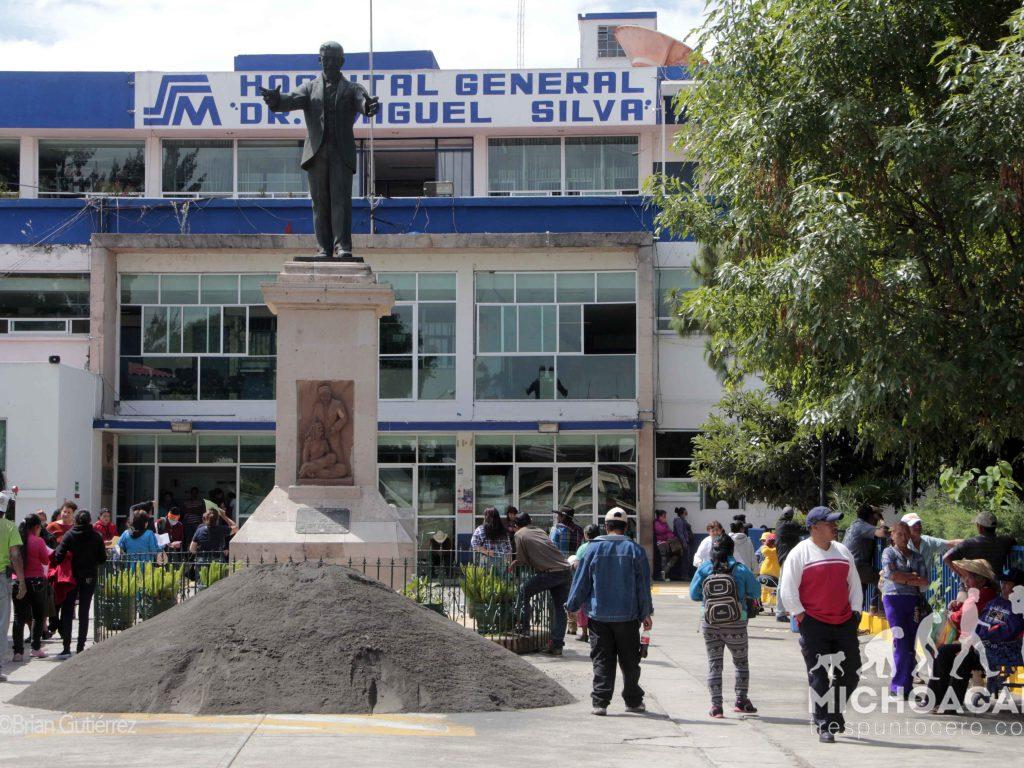 Sin agua, operan Hospital Civil y Hospital Infantil en Morelia