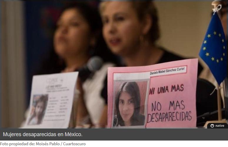 Reportan 120 mujeres desaparecidas en el primer trimestre del año en Morelos