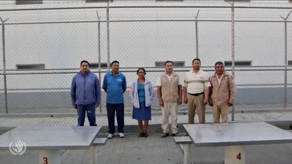 Libres, los tres defensores del agua de Tlanixco que aún estaban en la cárcel (Estado de México)