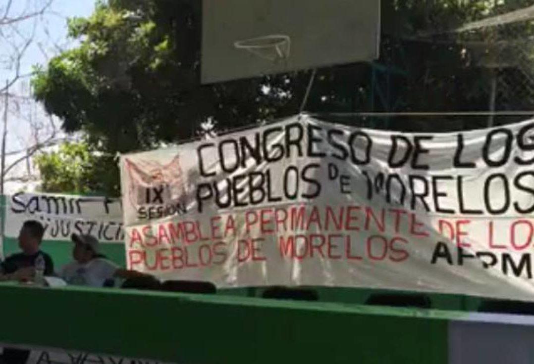 """Congreso de Pueblos de Morelos reitera el """"no"""" a la termoeléctrica, pero se abre al diálogo"""
