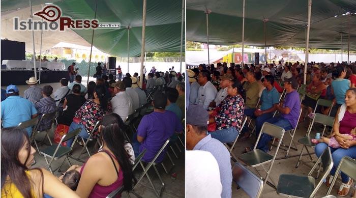 Ante la ausencia de la Sener se pospone asamblea de consulta indígena en Unión Hidalgo (Oaxaca)