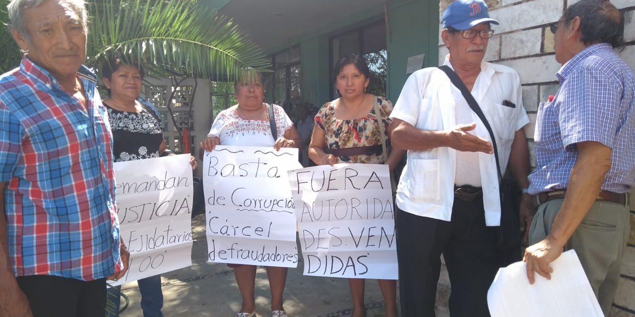"""Defienden sus tierras de falsos """"avecindados"""" (Vídeo) (Yucatán)"""