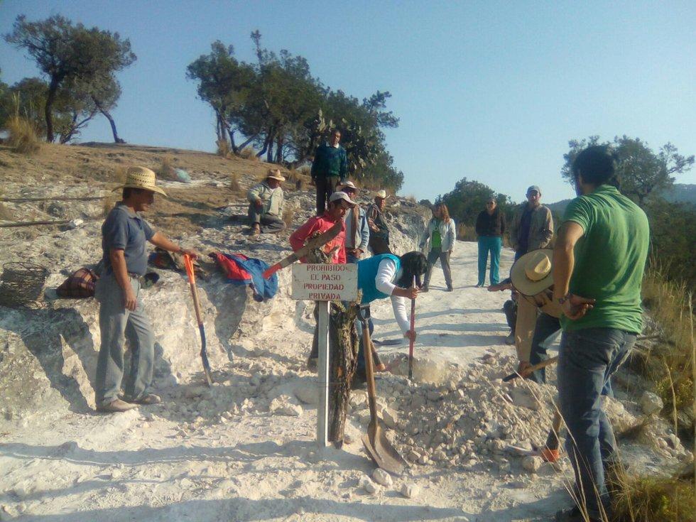 Poder judicial evita hablar sobre inconstitucionalidad de Ley Minera (Puebla)