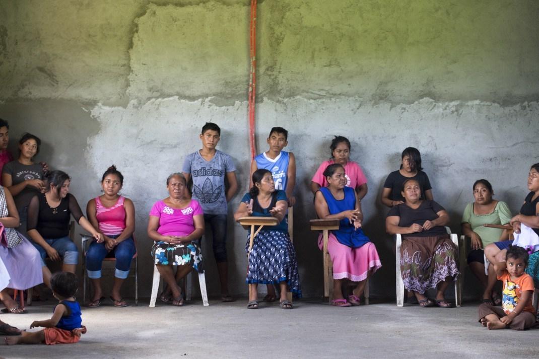 Frente a intentos de consulta, defender el territorio (Oaxaca)