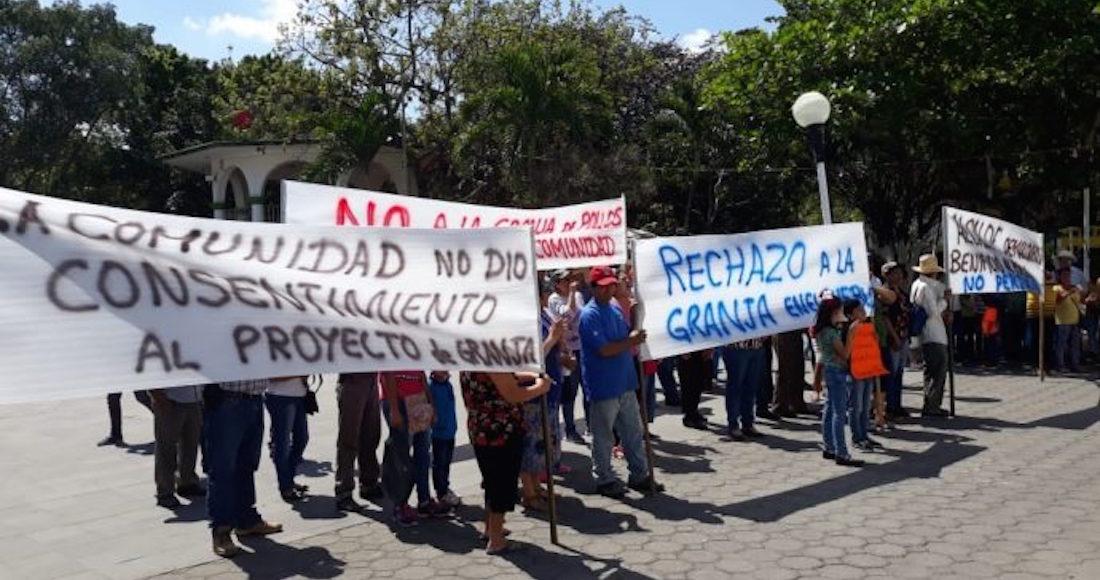 Habitantes de Actopan, Veracruz, denuncian daños ambientales por la construcción de una planta
