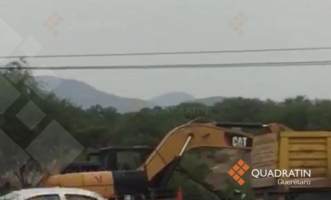 Exigen vecinos frenar construcción de puente elevado en Tequisquiapan  (Querétaro)