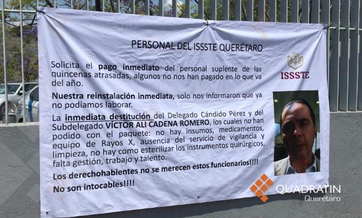 Mantiene ISSSTE Qro solo a 50 de 200 empleados médicos suplentes (Querétaro)