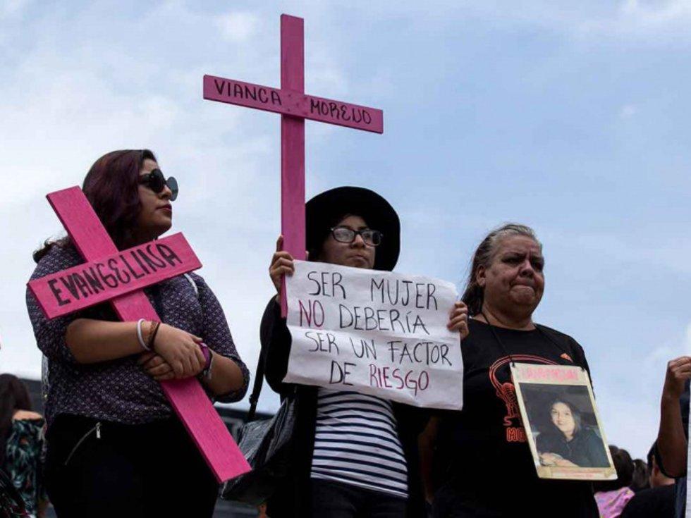 'Destacan' los tres municipios con más feminicidos en México