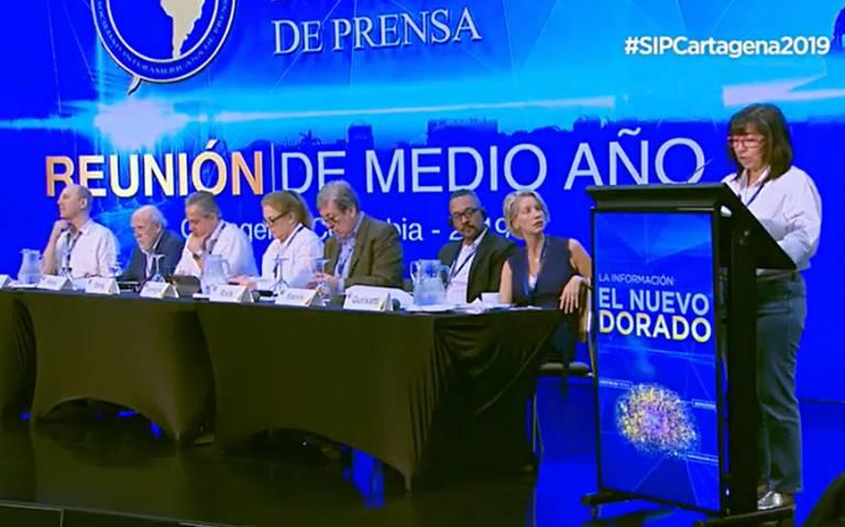 Situación de la prensa en México ha empeorado con AMLO: SIP