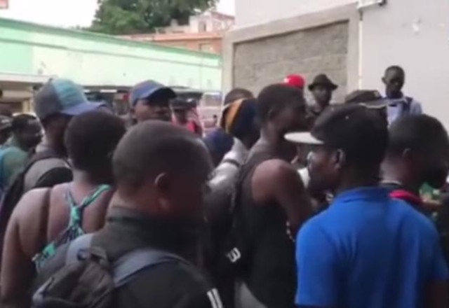 Africanos piden agilizar asilo humanitario en Nuevo Laredo (Tamaulipas)