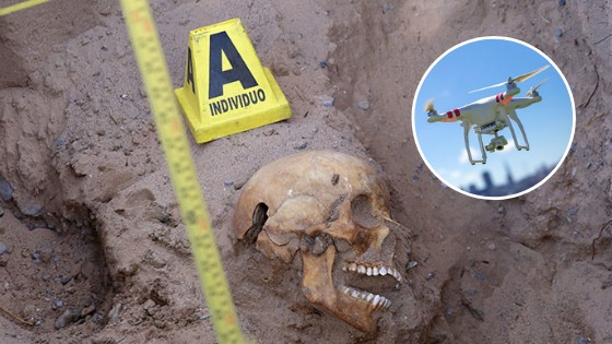 Con drones, madres de desaparecidos encuentran ¡mil 600 restos!; buscan más (Nuevo León)