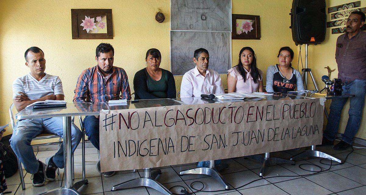 Denuncian instalación de gasoducto irregular en comunidad indígena de Lagos de Moreno, Jalisco
