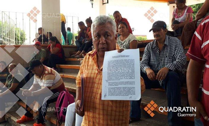 Gobierno federal incumple acuerdos, denuncian desplazados de la Sierra (Guerrero)