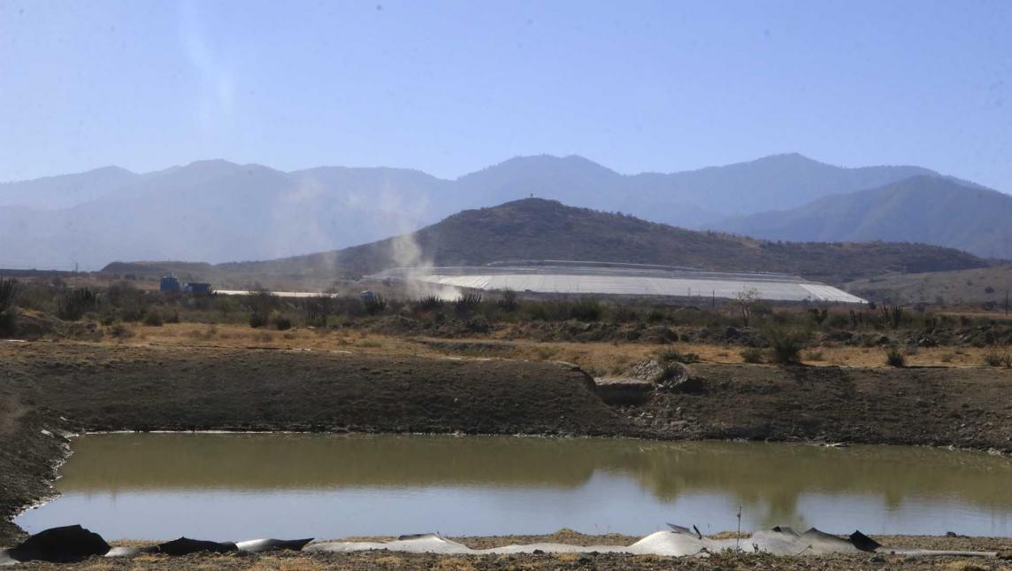 Desatiende gobierno lucha contra minera (Oaxaca)