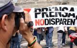 Bajan los asesinatos de periodistas en el mundo, pero no en México