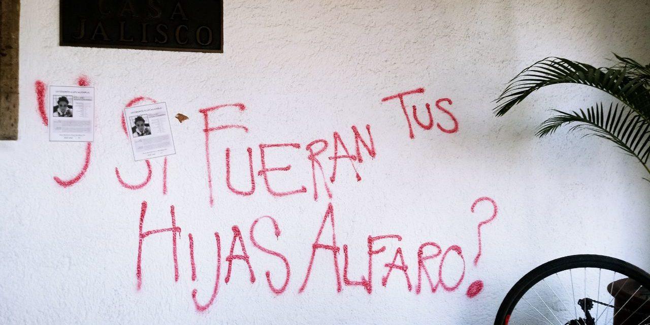 """""""¿Y si fueran tus hijas, Alfaro?"""", cuestionan familiares de desaparecidas al gobernador de Jalisco"""