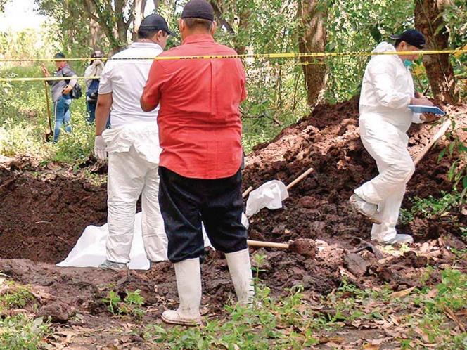 Durango reporta 21 fosas clandestinas; de 280 víctimas, sólo una fue identificada