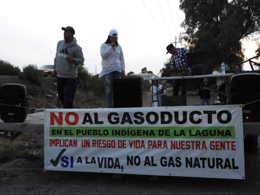Denuncian hostigamiento policial en acto cultural contra gasoducto (Jalisco)