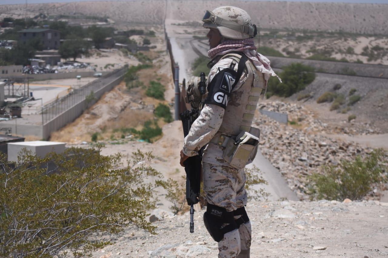 Galería: Guardia Nacional extiende 'muro humano' a zonas semidesérticas (Chihuahua)