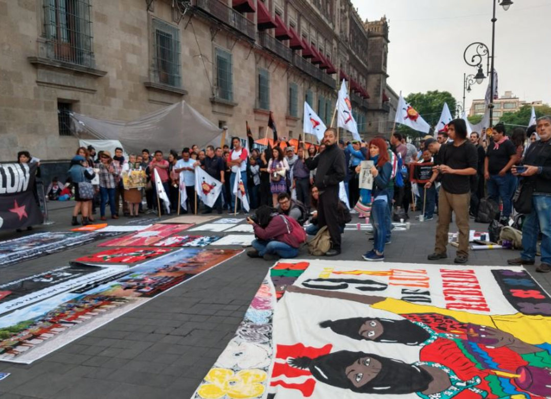 Denuncian asesinatos y aumento de militarización en zonas zapatistas (Ciudad de México)