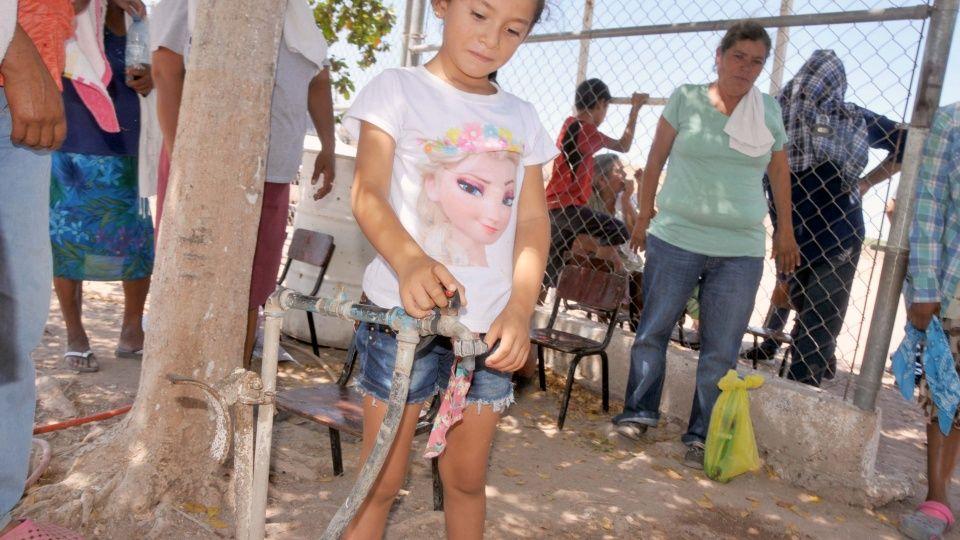 Advierten toma de carretera por falta de agua en Goritos (Sinaloa)