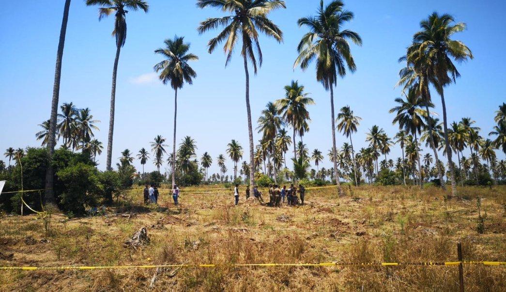 Colima ha hallado 90 fosas clandestinas en lo que va del año