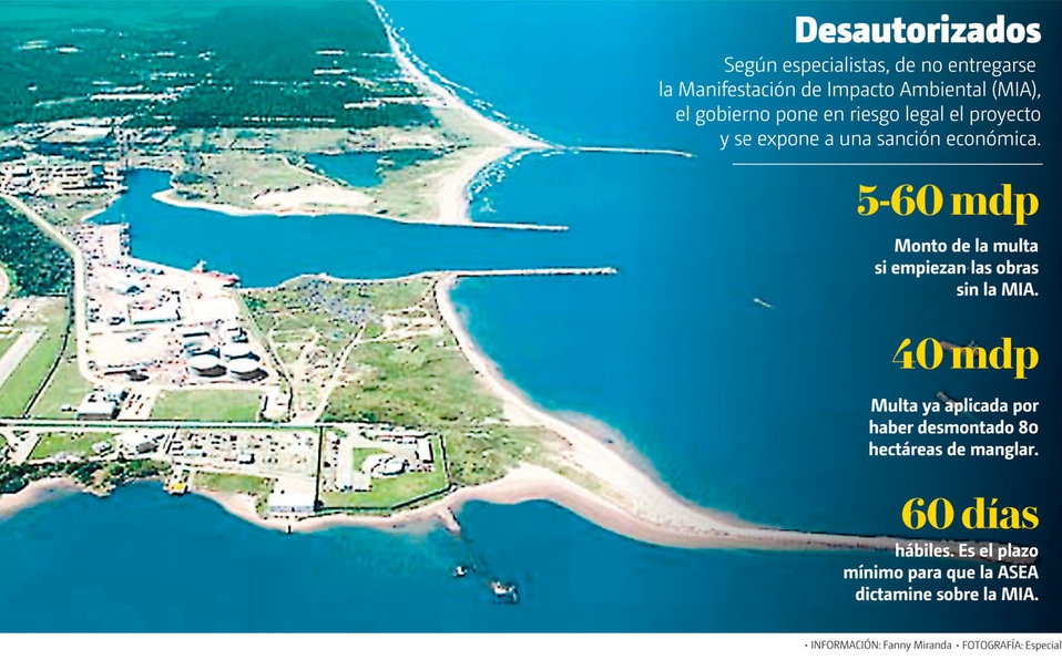 Sin permiso ambiental, dan hoy banderazo de salida a Dos Bocas (Tabasco)