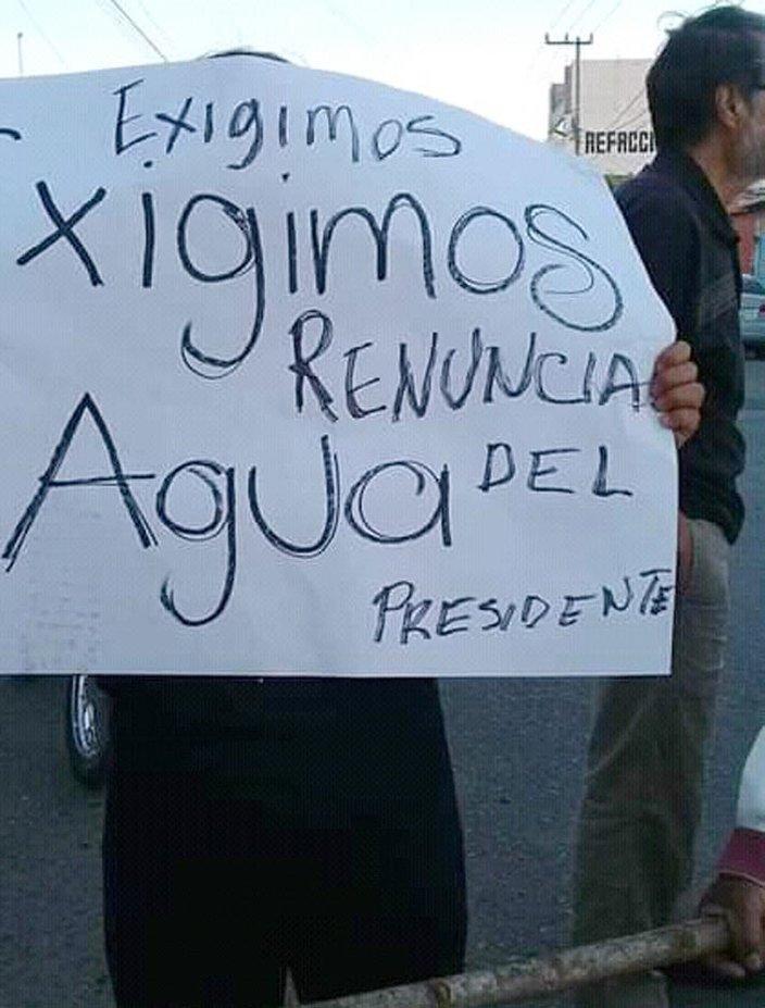 Amenazan con bloqueos si persiste falta de agua potable en colonias de Tlaxcoapan (Hidalgo)