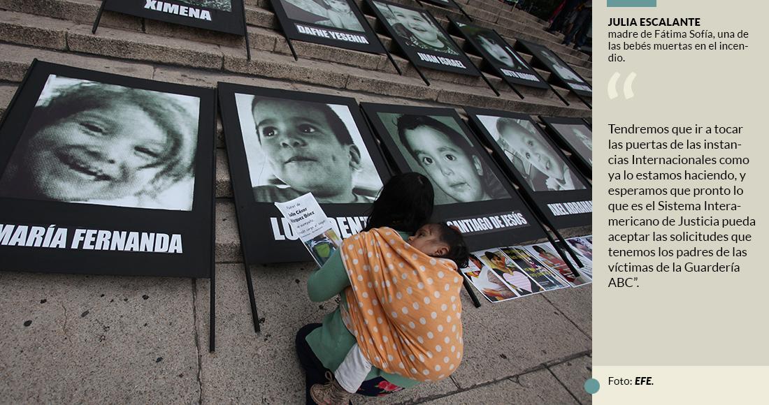 Los padres de los 49 niños del ABC reclaman 10 años de impunidad; nadie ha pisado la cárcel, acusan (Sonora)