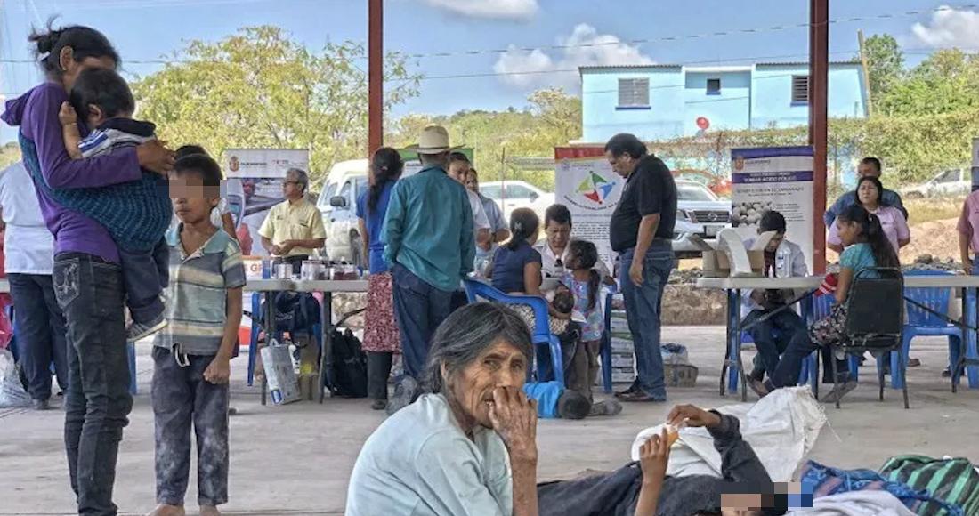 Grupos armados se apoderan de pueblos en Guerrero y ya van 5 mil desplazados, 590 son menores