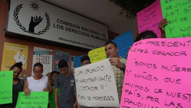 Agentes migratorios torturaron a padre e hijo hondureños en Tlaxcala: CNDH