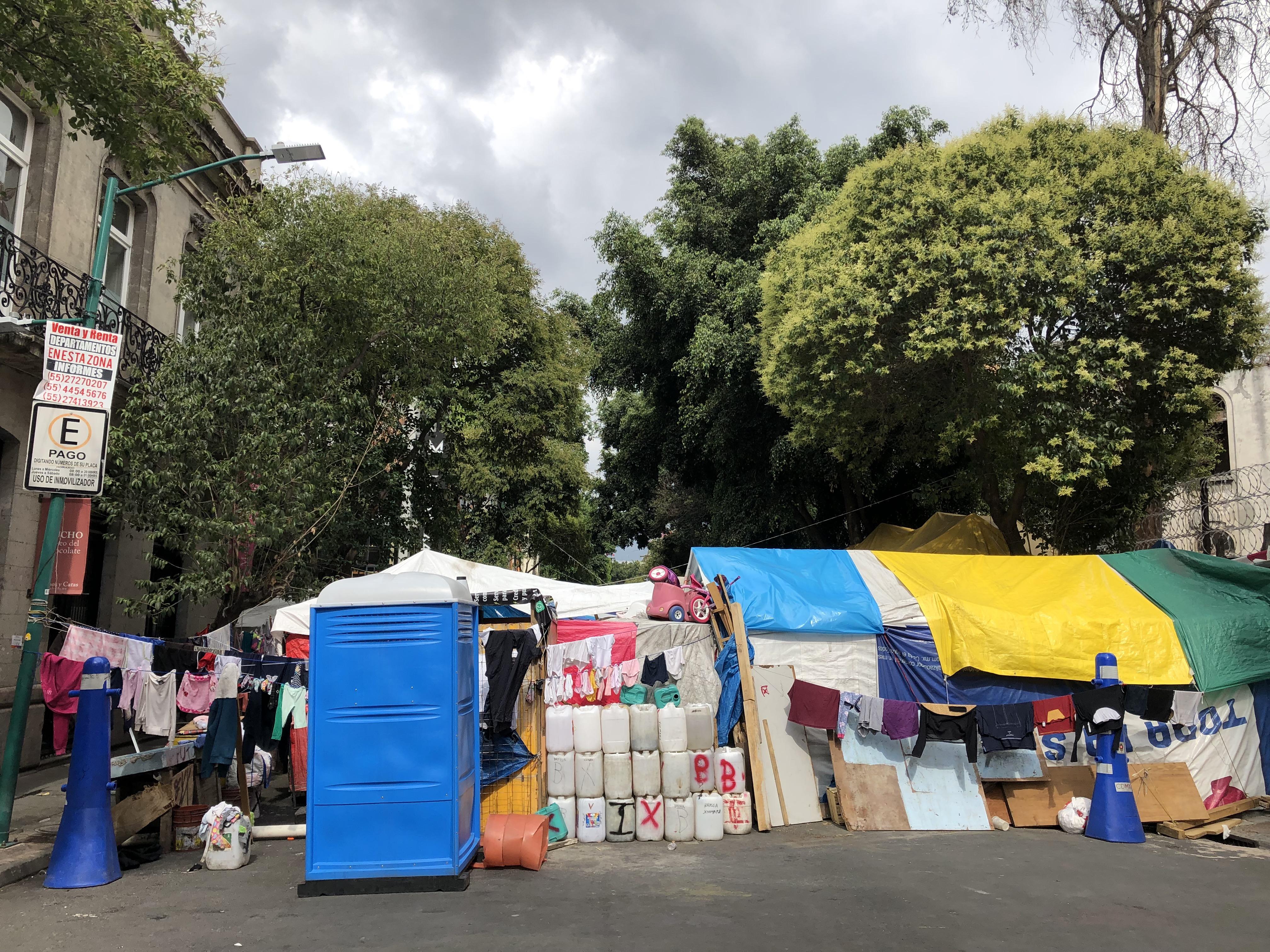 Vecinos de la Juárez, entre la inacción del gobierno, las inmobiliarias y el racismo (CDMX)