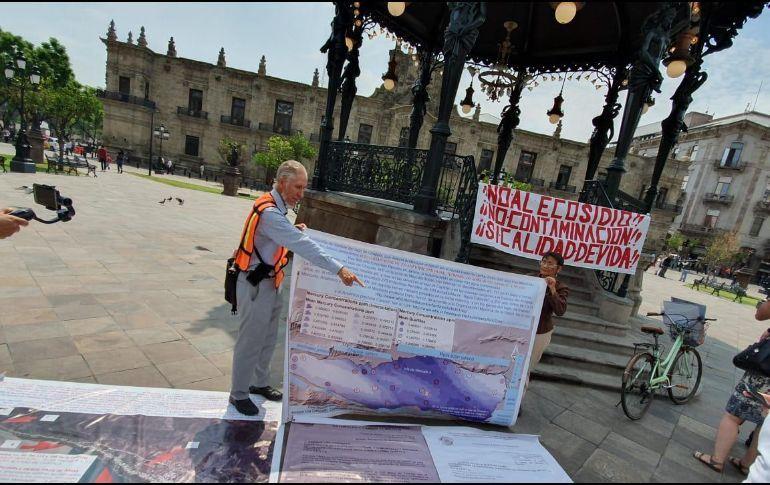 Exigen declaratoria de emergencia sanitaria en Chapala (Jalisco)