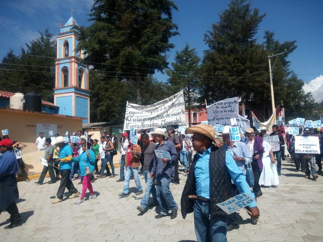 Pobladores rechazan Mina Ixtaca, clausuran oficina (Puebla)