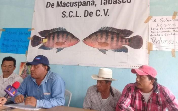 Temen pescadores por sus vidas por contaminación (Tabasco)