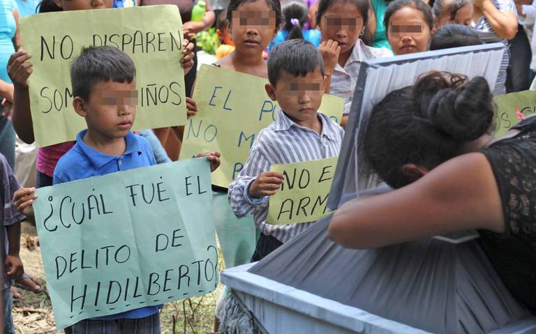 Ejército impune por asesinato de niño en Aquila (Michoacán)