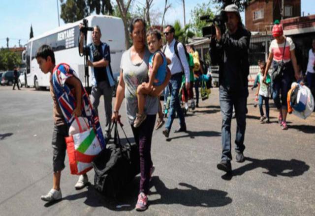 En Nuevo Laredo esperan a miles de migrantes (Tamaulipas)