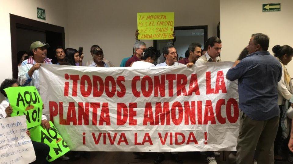 Movimiento Aquí No, toma instalaciones del Palacio Municipal (Sinaloa)