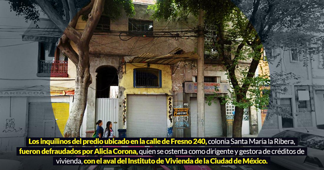 En Santa María la Ribera, en CdMx, más vecinos acusan al INVI de ser cómplice en el despojo de predios