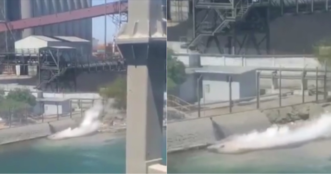 Grupo México, de Germán Larrea, derrama ahora 3,000 litros de ácido sulfúrico en Mar de Cortés (Sonora)