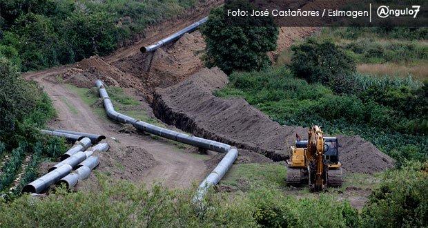 Juez suspende funcionamiento del gasoducto Morelos en ejido de Amilcingo